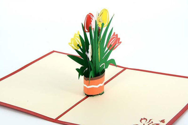 Tulip2 - Henry Pop-Up Cards
