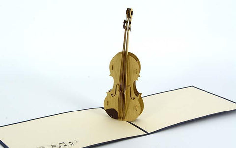 Violin - Henry Pop-Up Cards