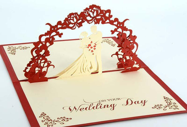 Wedding Couple 1 - Henry Pop-Up Cards