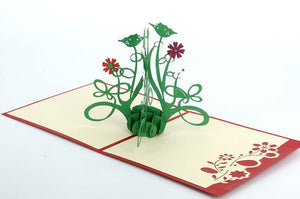 Wild Flower - Henry Pop-Up Cards