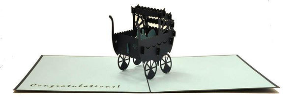 Boy In Pram - Henry Pop-Up Cards