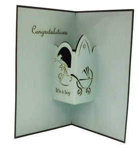 It's a Boy - Henry Pop-Up Cards