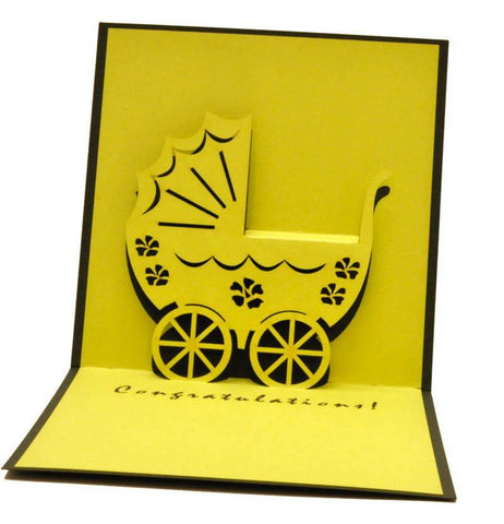 Pram 90 - Henry Pop-Up Cards