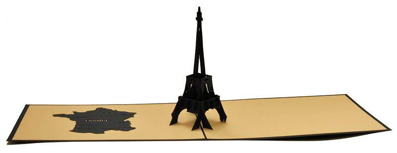 Eiffel Tower - Henry Pop-Up Cards