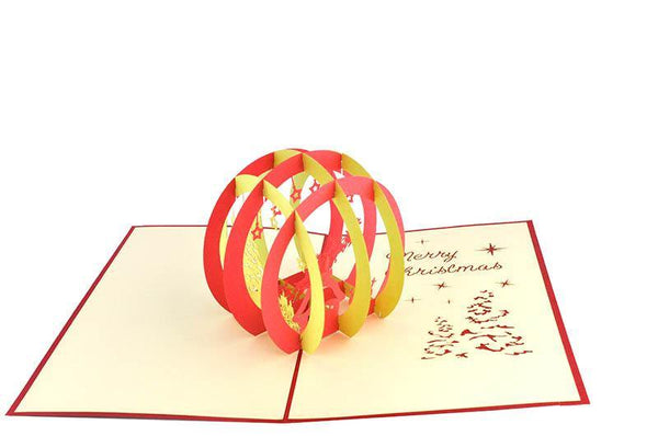 Christmas Globe - Henry Pop-Up Cards
