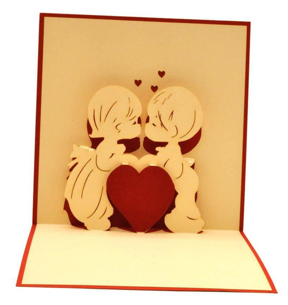 Kissing - Henry Pop-Up Cards