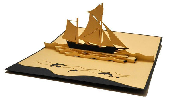 Sailing Boat - Henry Pop-Up Cards