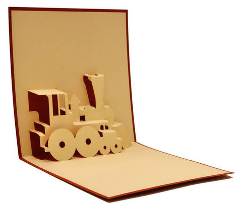 Train - Henry Pop-Up Cards