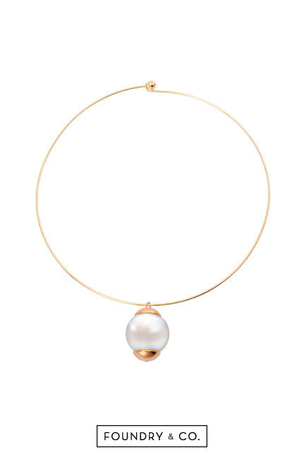 Juno Pearl Choker Necklace [LAST PIECE]