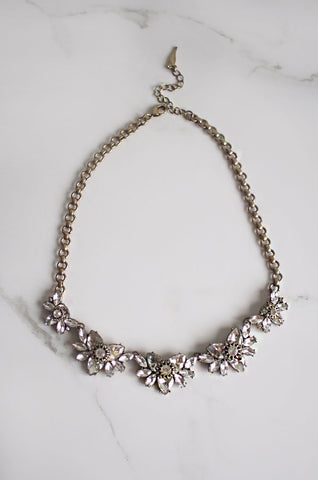 Aeolus Crystal Chain Necklace [LAST PIECE]