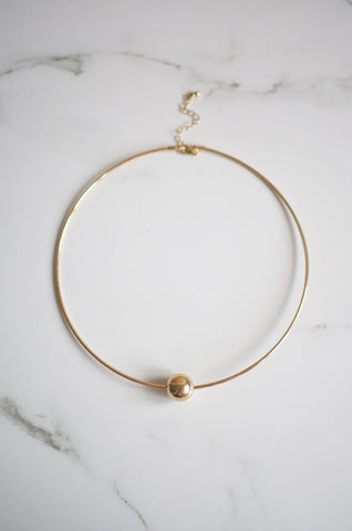 Aila Choker in Gold [22% OFF]