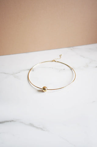 Aila Choker in Gold [42% OFF]
