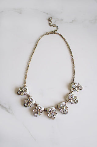 Alcyone Gem and Crystal Necklace [LAST PIECE]