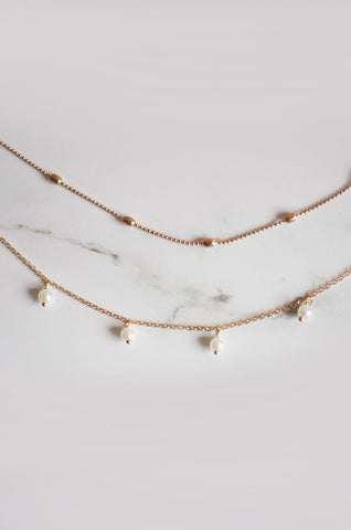 Arlai Choker Set in Gold [42% OFF]