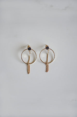 Bhab Hoop Earrings in Gold