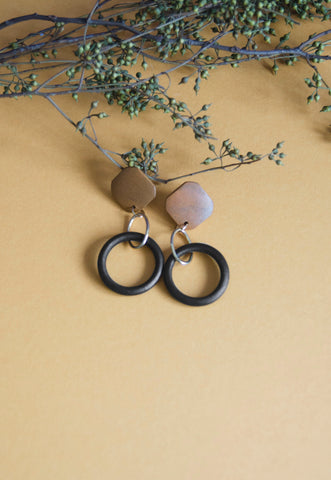 Bramo Wooden Earrings [30% OFF]
