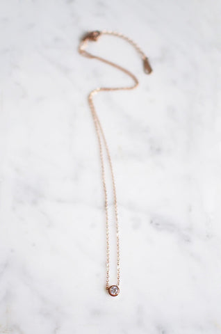 Unus Marbled Necklace [40% OFF]