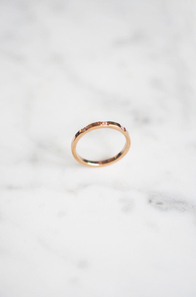 Ciorcal Ring in Rose Gold [30% OFF]