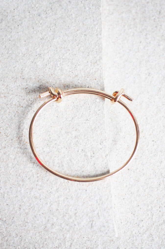 Chelous Twist Bracelet in Gold [LAST PIECE]