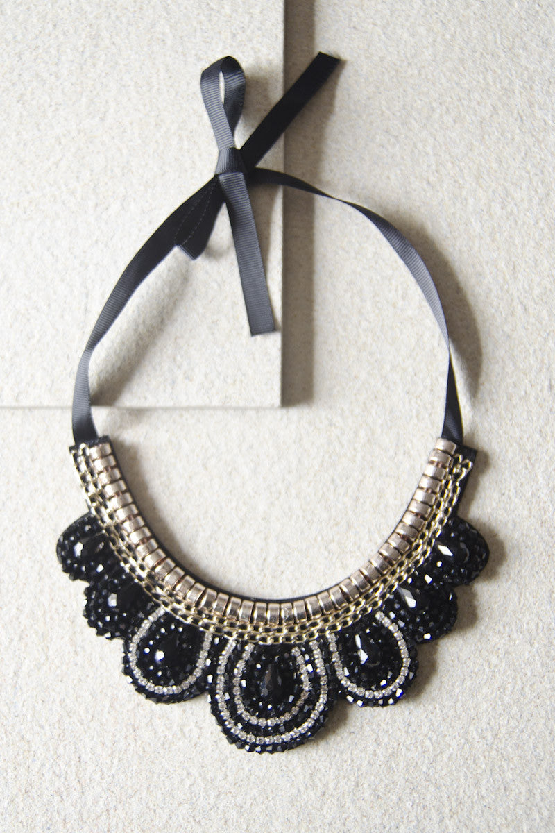 Cephal Gem Beaded Necklace [47% OFF]