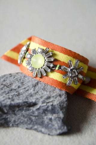 Iobates Bracelet Cuff (Orange/Yellow) [PREMIUM]