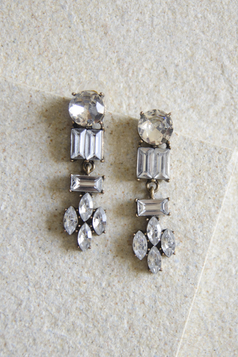 Ceres Crystal Earrings [LAST PIECE]