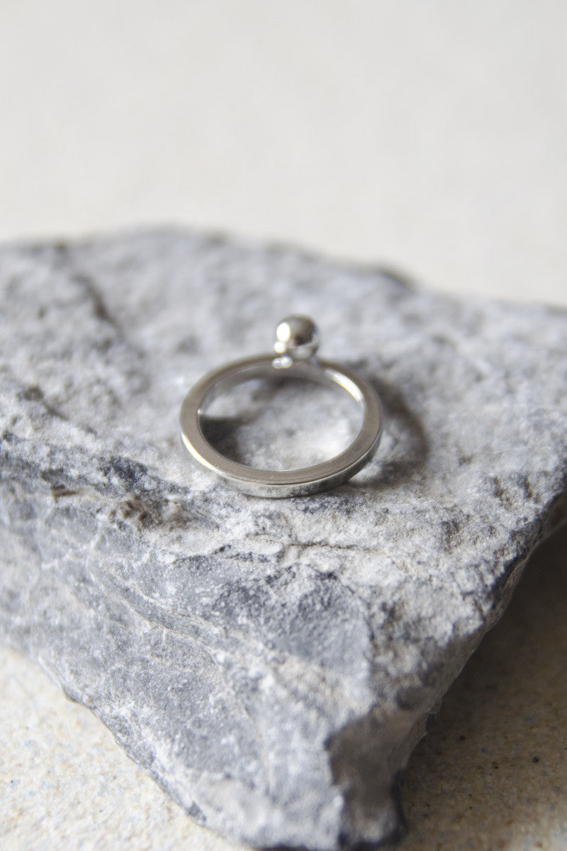 Dana Silver Ring (Thick) [LAST PIECE]