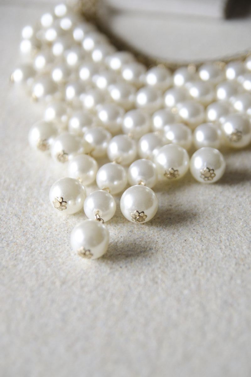 Pearl Chandelier Necklace [LAST PIECE]