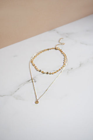 Ti Teardrop Earrings in Gold