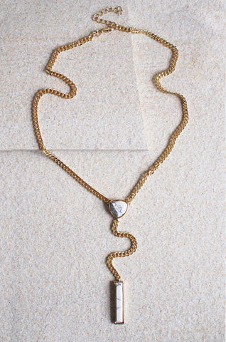 Dioscuri Marbled Chain Necklace