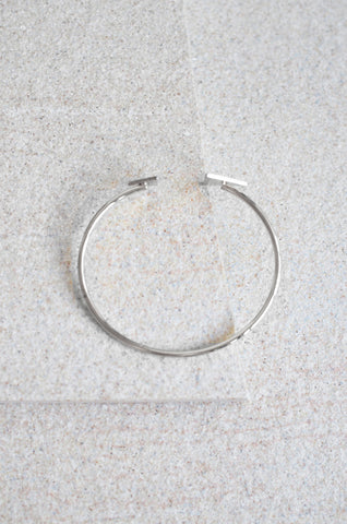 Duo Triangle Bracelet in Silver