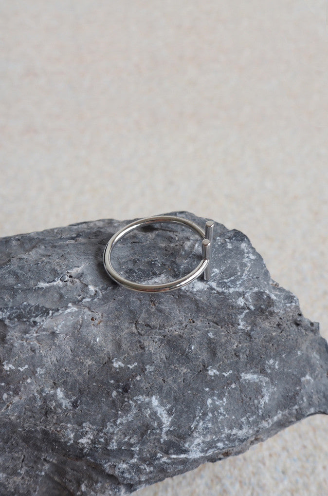 Eterp Ring in Silver