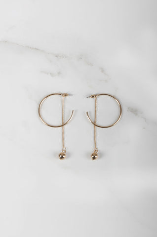 Gli Earrings in Gold