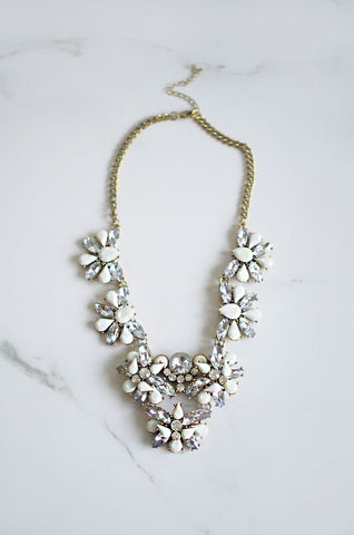 Haemon Crystal & Gem Necklace