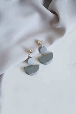 Aderet Wooden Earrings