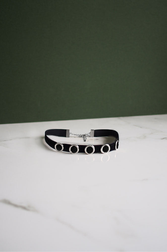 Cuig Choker in Silver [31% OFF]