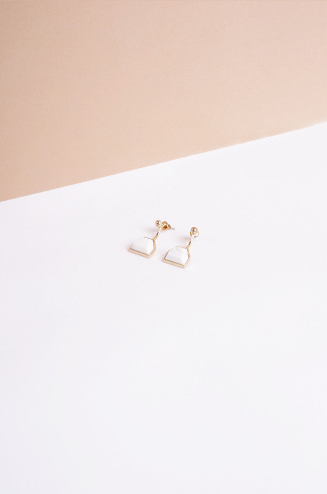 Leacht Eardrops with White Marble