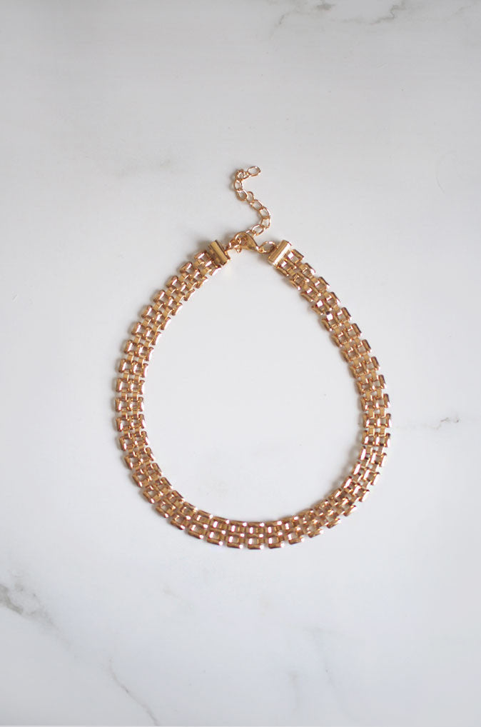 Mej Chain Choker in Gold [33% OFF]