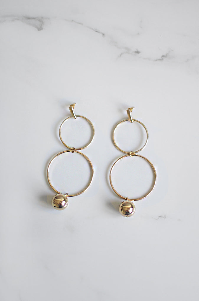 Neach Earrings in Gold [20% OFF]
