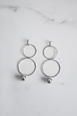 Neach Earrings in Silver