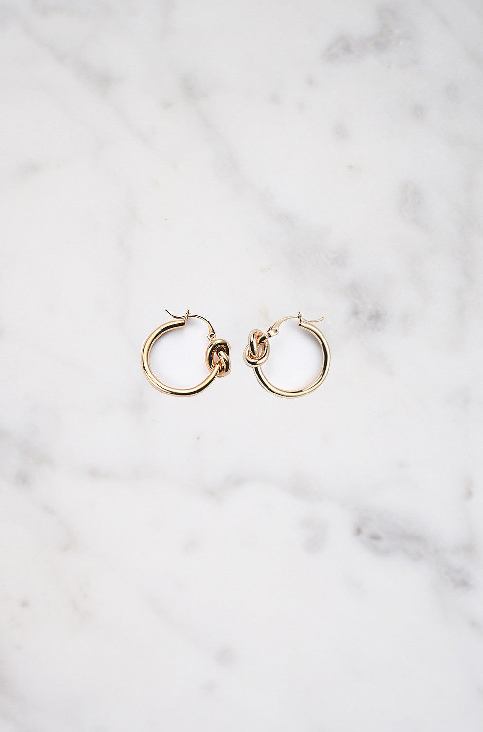 Nexus Knot Earring in Gold