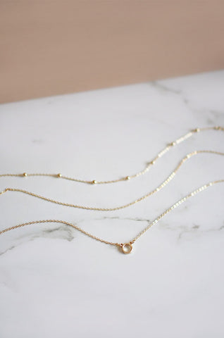 Ninir Necklace Set in Gold