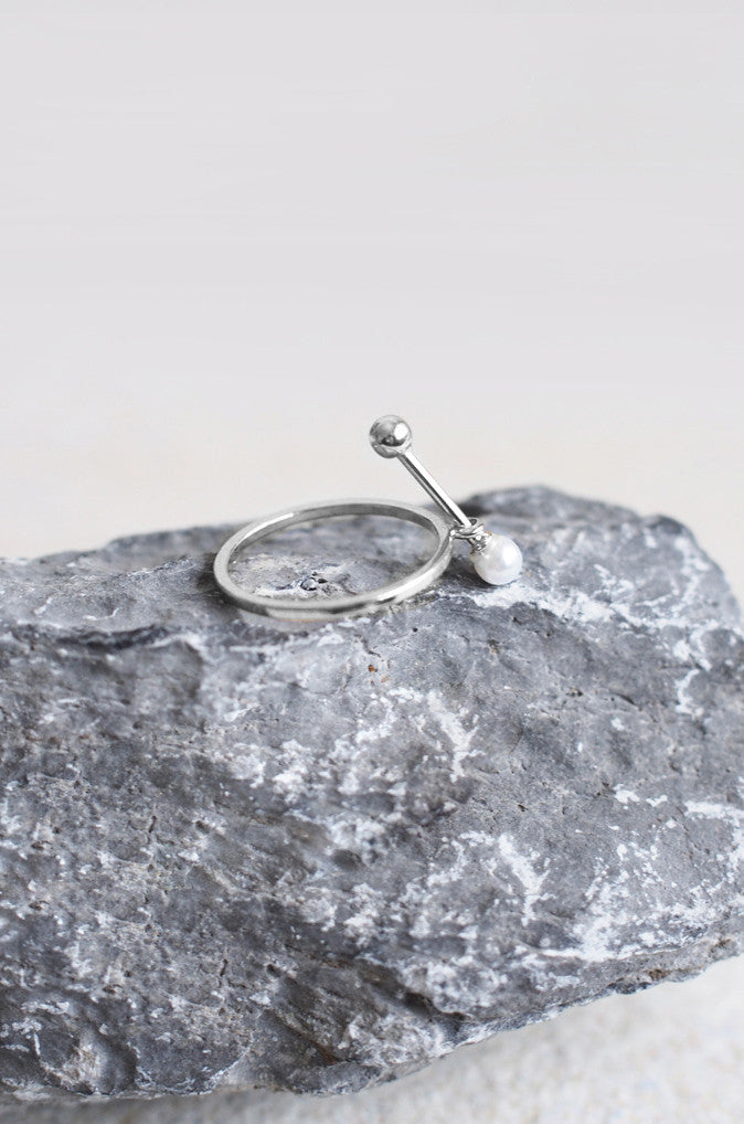 Penates Ring in Silver [24% OFF]