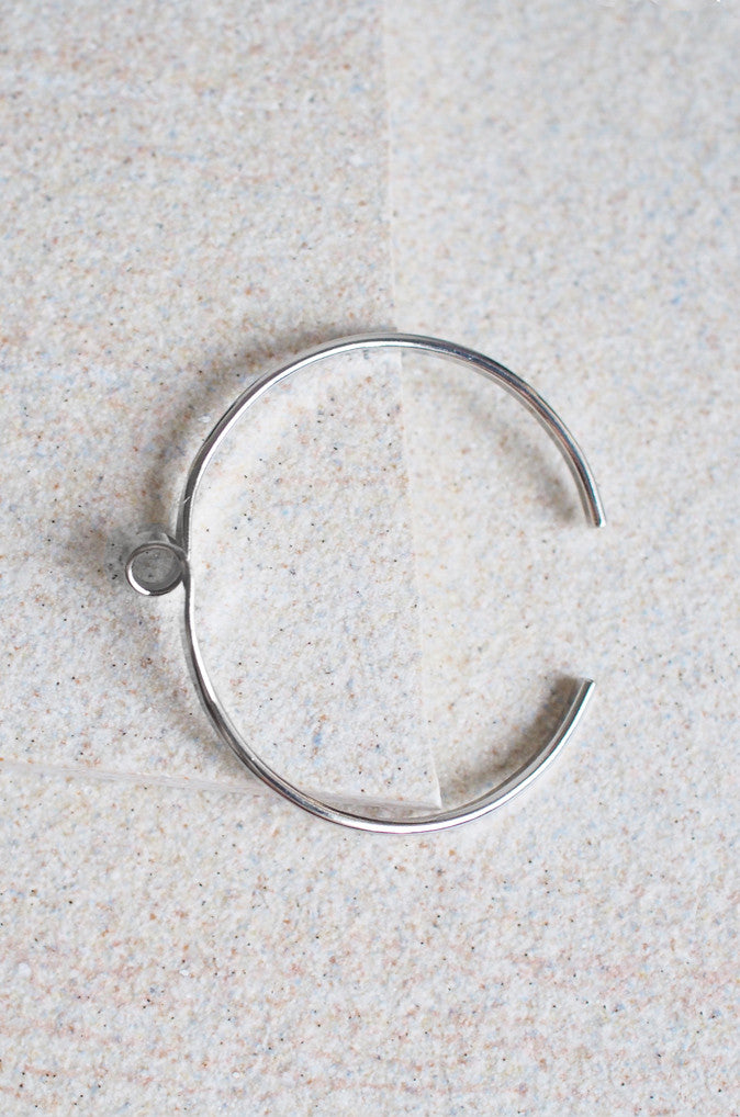 Rysthes Whirl Bracelet in Silver [50% OFF]