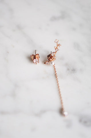 Sies Ear Crawler in Rose Gold [PREMIUM]
