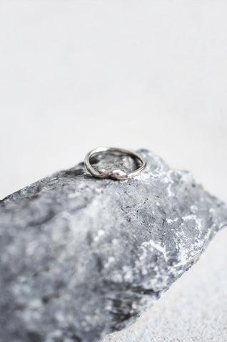 Synx Knotted Ring in Silver [28% OFF]