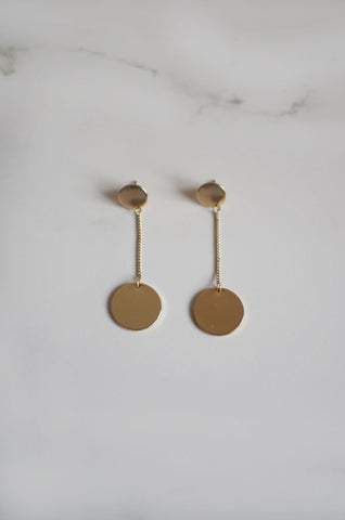 Timth Eardrops in Gold