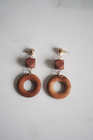 Vach Wooden Earrings