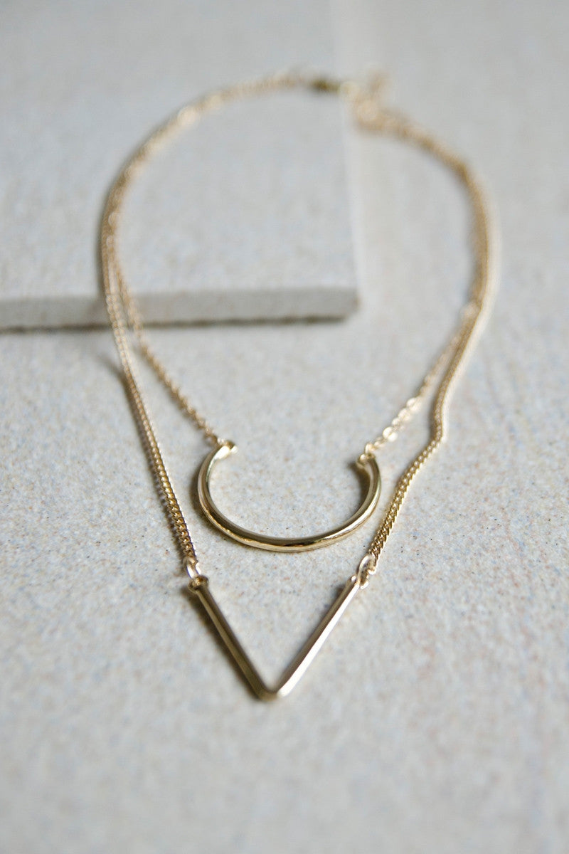 Achilles Chain Necklace in Gold [LAST PIECE]