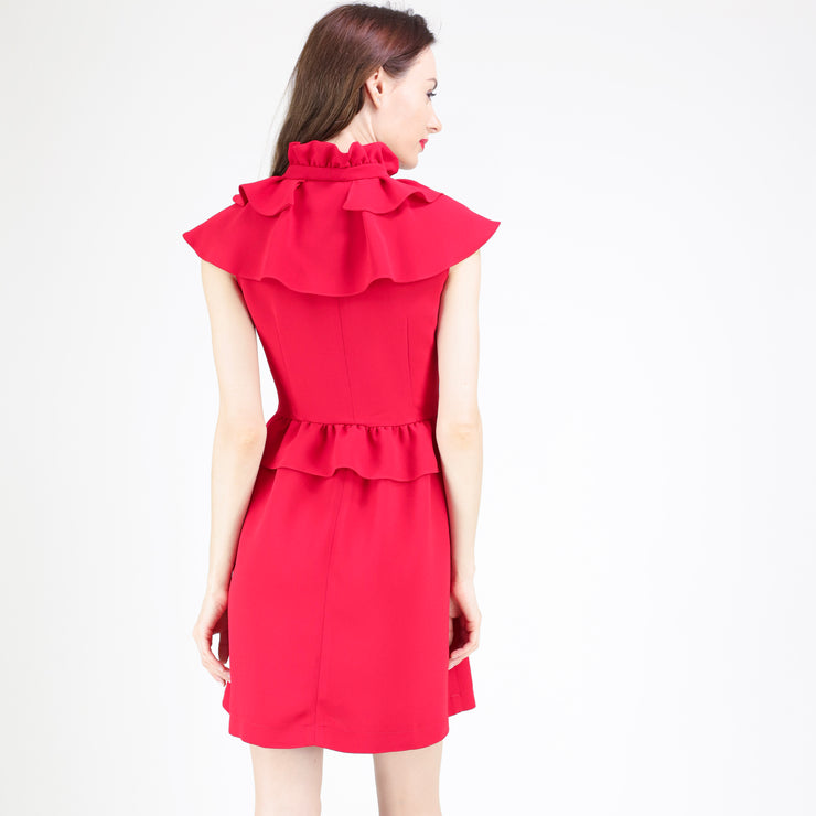 Ruffle details dress